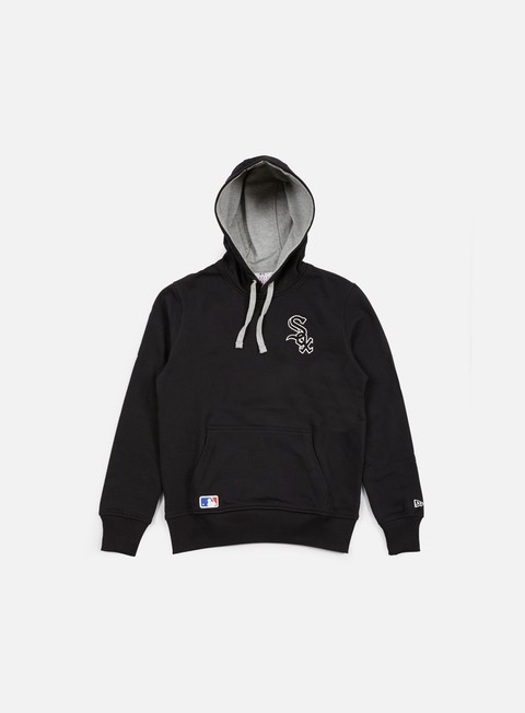 felpe new era mlb pullover hoody chicago white sox black