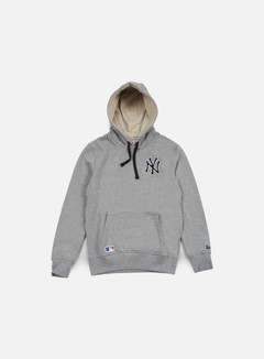 New Era - MLB Pullover Hoody NY Yankees, Light Grey Heather 1