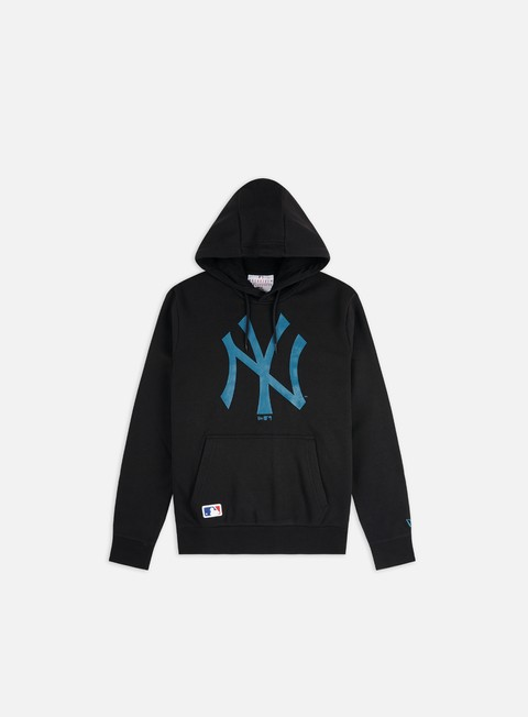 Outlet e Saldi Felpe con Cappuccio New Era MLB Seasonal Team Logo Hoodie NY Yankees