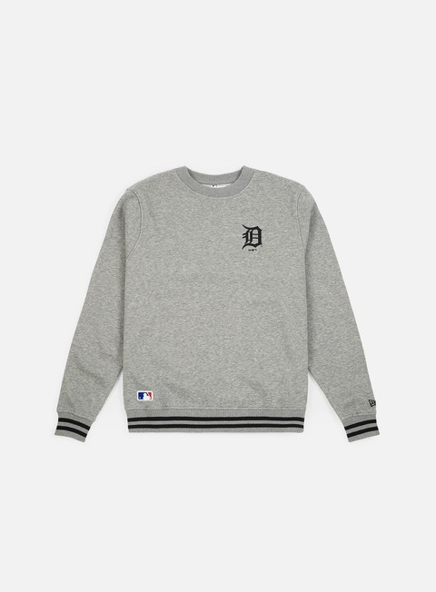 Felpe Girocollo New Era MLB Team Apparel Crewneck Detroit Tigers