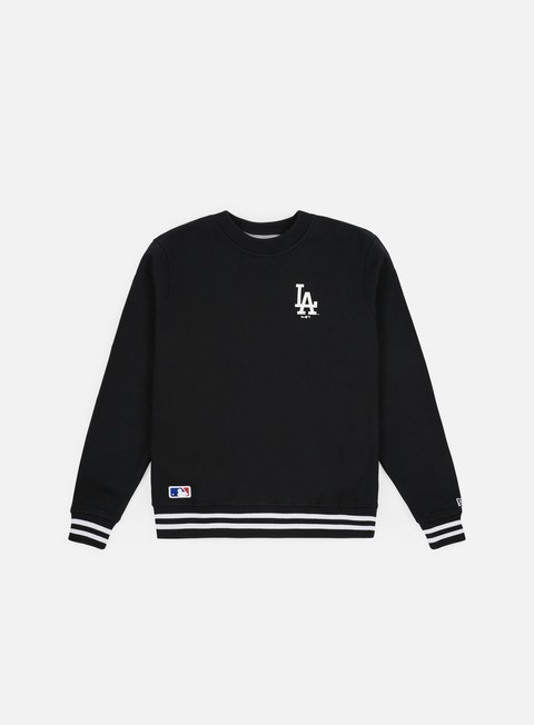 Outlet e Saldi Felpe Girocollo New Era MLB Team Apparel Crewneck Los Angeles Dodgers