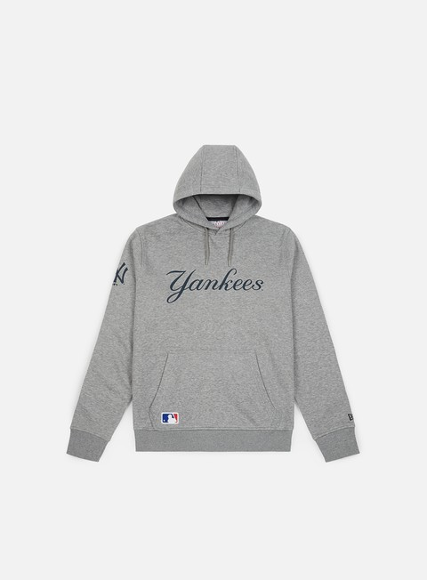 Felpe con Cappuccio New Era MLB Team Apparel Hoodie New York Yankees