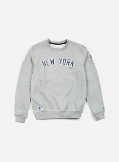 New Era - MLB Team Crewneck NY Yankees, Light Grey Heather 1