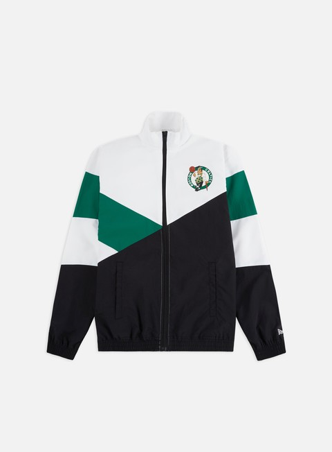 Track Top New Era NBA Colour Block Track Jacket Boston Celtics