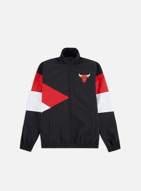 Track Top New Era NBA Colour Block Track Jacket Chicago Bulls