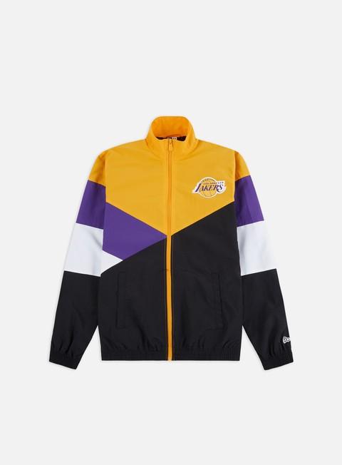 New Era NBA Colour Block Track Jacket LA Lakers