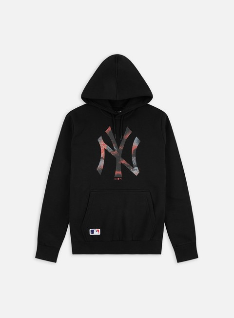 New Era NBA Infill Logo Hoodie NY Yankees