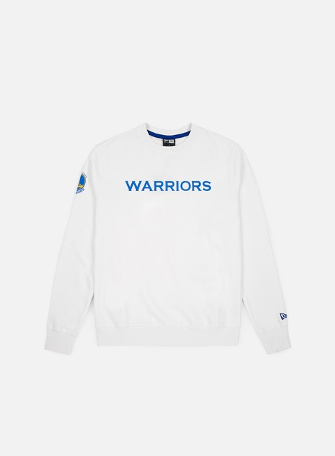 Felpe Girocollo New Era NBA Team Apparel Crewneck Golden State Warriors