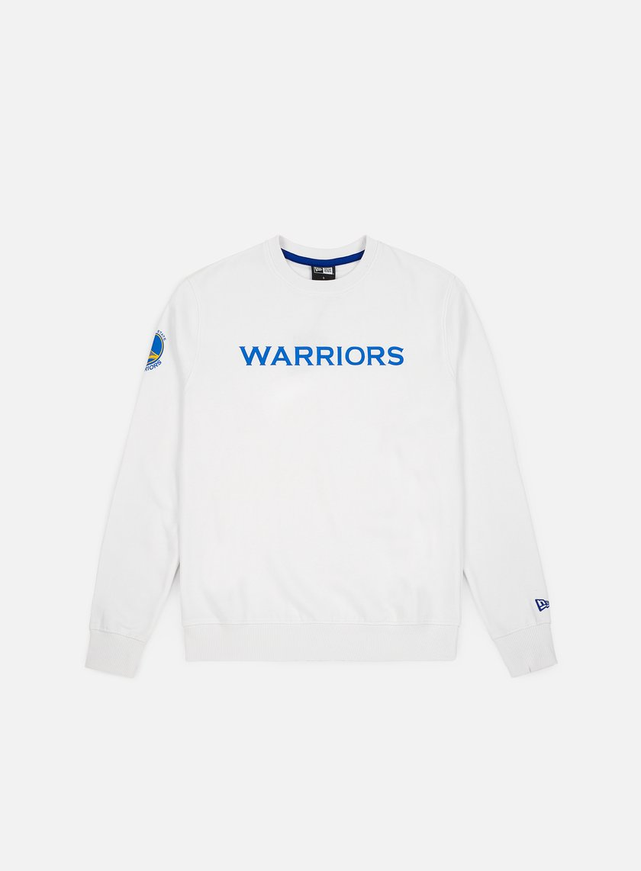 New Era NBA Team Apparel Crewneck Golden State Warriors