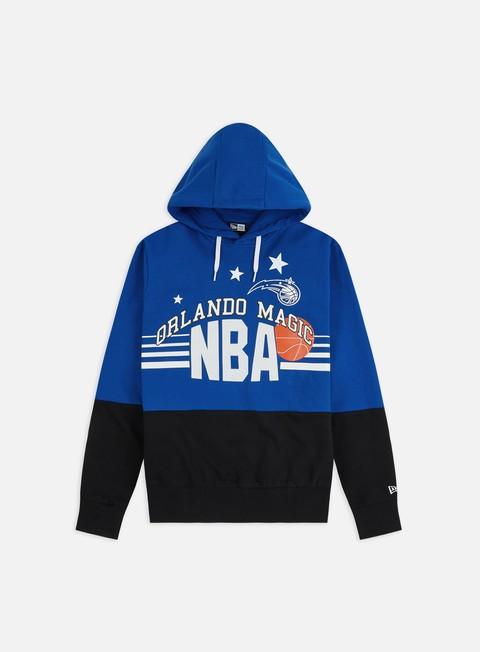 Felpe con Cappuccio New Era NBA Throw Back Hoodie Orlando Magic