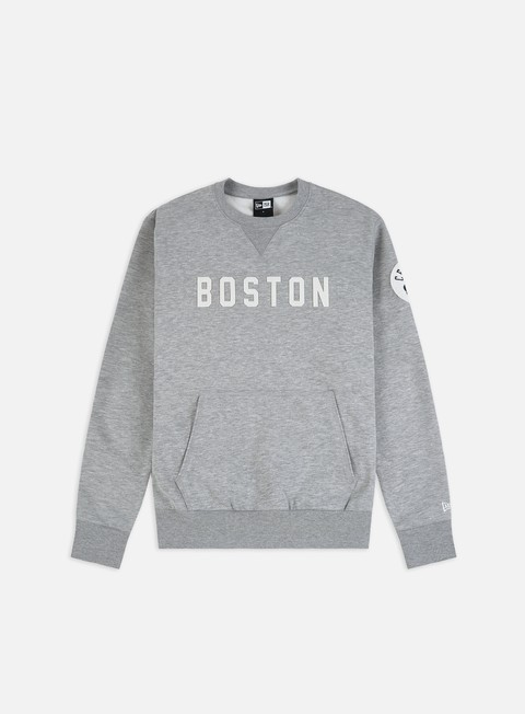 Felpe Girocollo New Era NBA Wordmark Crewneck Boston Celtics
