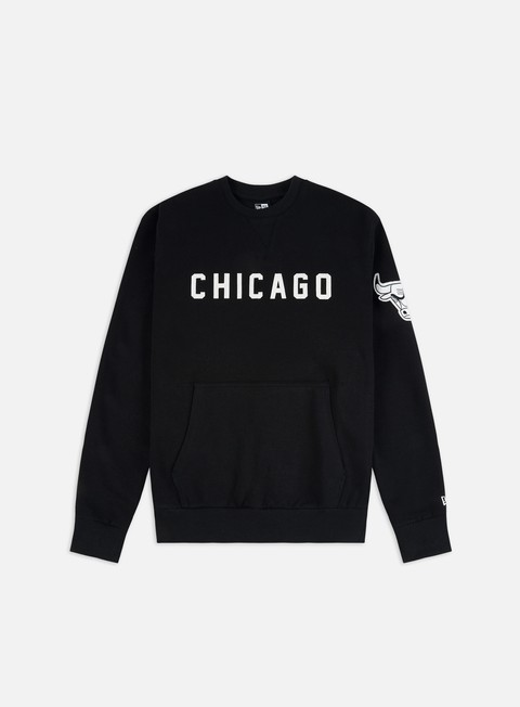 Sale Outlet Crewneck Sweatshirts New Era NBA Wordmark Crewneck Chicago Bulls