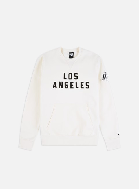 Felpe Girocollo New Era NBA Wordmark Crewneck LA Lakers