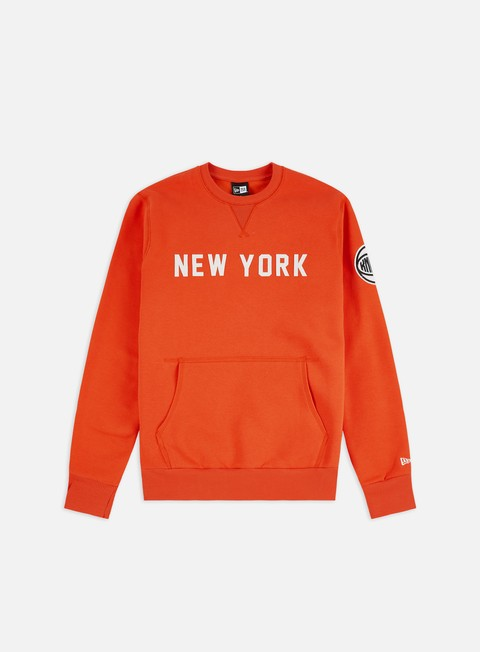 New Era NBA Wordmark Crewneck NY Yankees