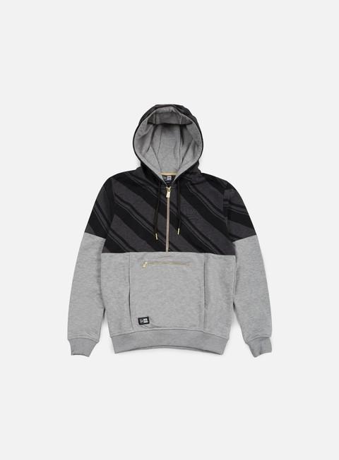 Hooded Sweatshirts New Era Neue Luxx French Terry Half Zip Hoody