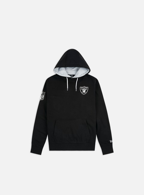 New Era NFL Chest Print Team Logo Hoodie Oakland Raiders