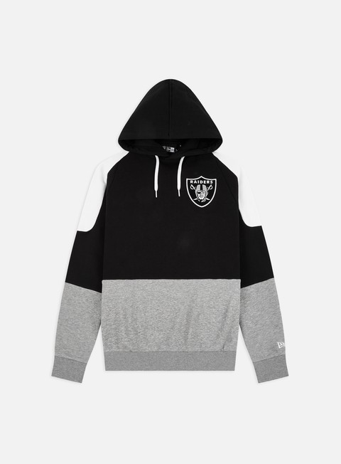 New Era NFL Contrast Panel Hoodie Las Vegas Raiders
