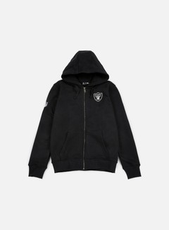 New Era - NFL Full Zip Hoody Oakland Raiders, Black 1