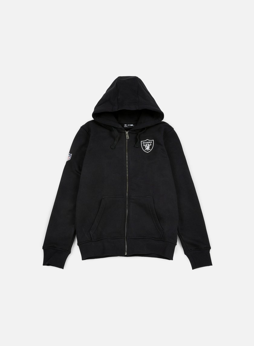 New Era - NFL Full Zip Hoody Oakland Raiders, Black