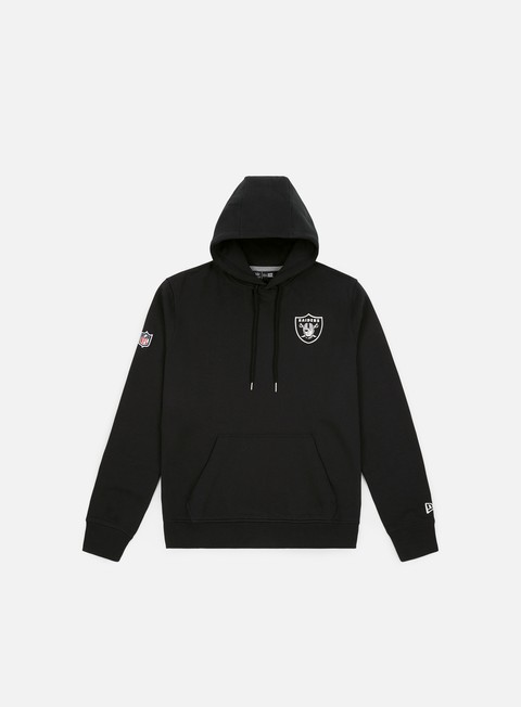 Outlet e Saldi Felpe con Cappuccio New Era NFL Team Apparel Hoodie Oakland Riders