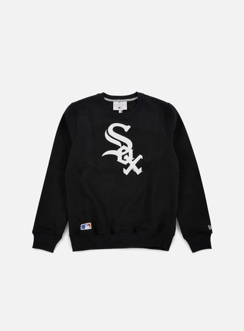 felpe new era nos crewneck chicago white sox black