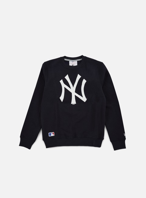 felpe new era nos crewneck ny yankees navy