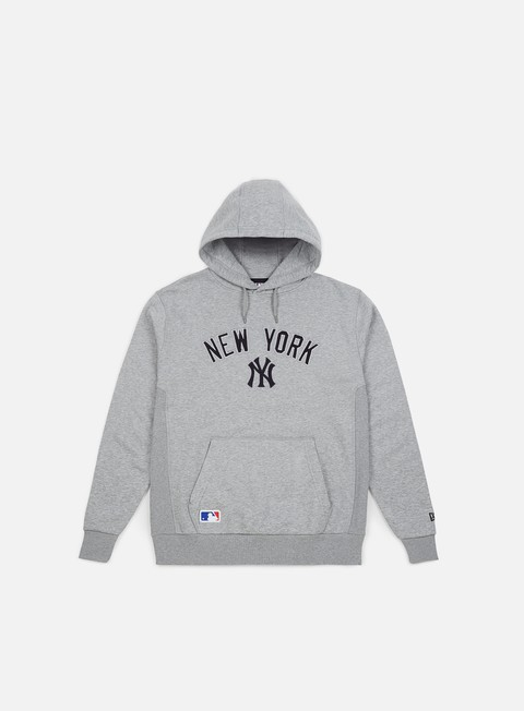 felpe new era post grad pack pullover hoody new york yankees light grey heather