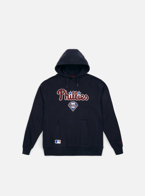 Outlet e Saldi Felpe con Cappuccio New Era Post Grad Pack Pullover Hoody Philadelphia Phillies