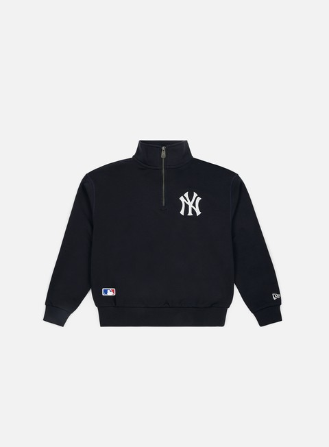 Felpe con Zip New Era Post Grad Pack Turtle Neck New York Yankees