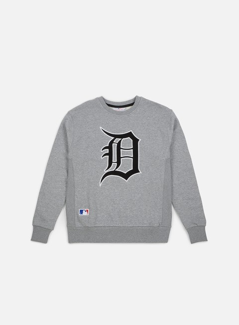 Outlet e Saldi Felpe Girocollo New Era Post Grad Pack Xl Crewneck Detroit Tigers
