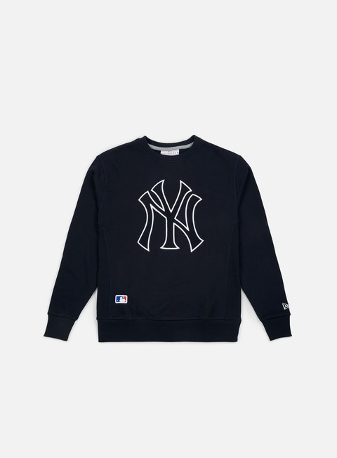 Outlet e Saldi Felpe Girocollo New Era Post Grad Pack Xl Crewneck New York Yankees