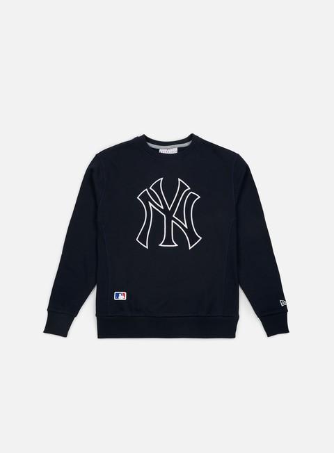 Sale Outlet Crewneck Sweatshirts New Era Post Grad Pack Xl Crewneck New York Yankees