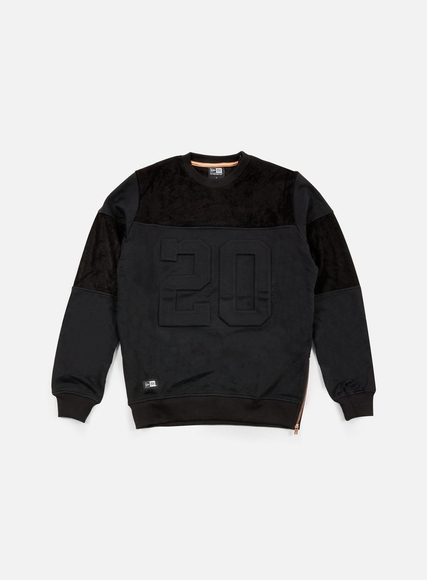 New Era - Premium Neue Luxx Crewneck, Black