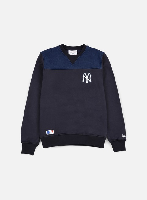 felpe new era remix ii crewneck ny yankees navy