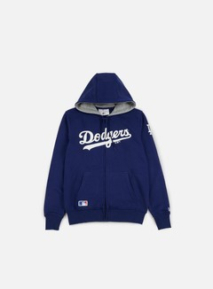 New Era - TA Full Zip Hoody LA Dodgers, Dark Royal Blue 1
