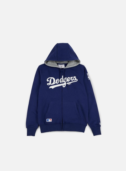 Outlet e Saldi Felpe con Cappuccio New Era TA Full Zip Hoody LA Dodgers