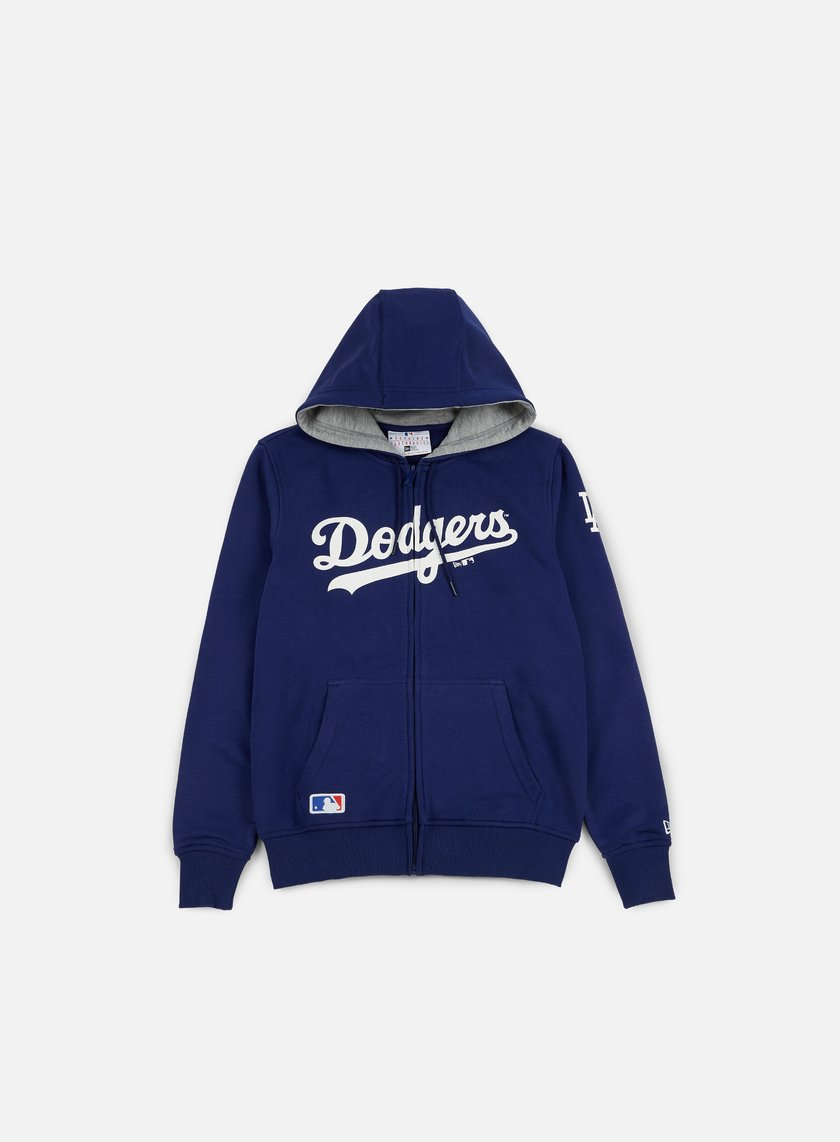 New Era - TA Full Zip Hoody LA Dodgers, Dark Royal Blue