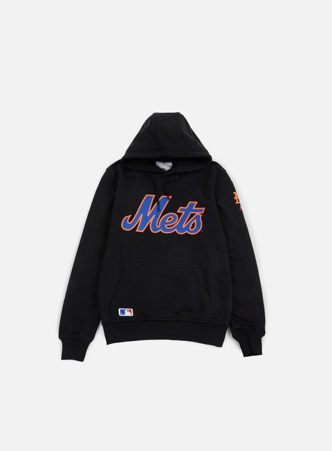 felpe new era team app pullover hoody ny mets black
