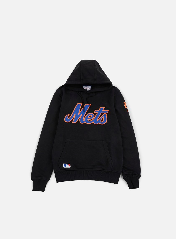 New Era - Team App Pullover Hoody NY Mets, Black