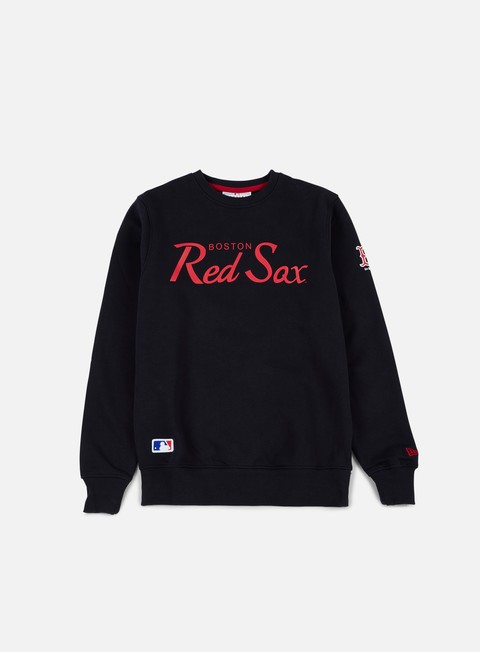 felpe new era team apparel crewneck boston red sox navy
