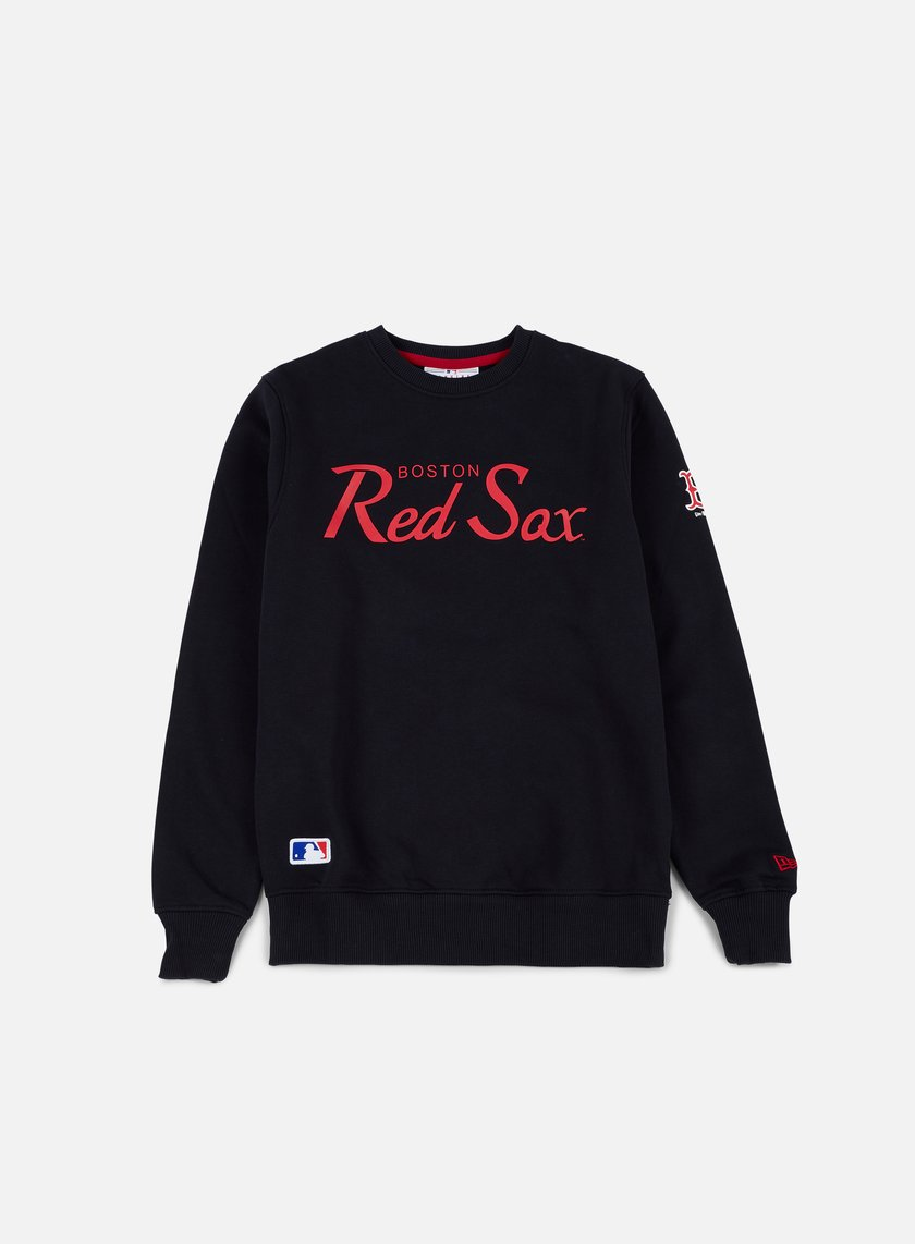 New Era - Team Apparel Crewneck Boston Red Sox, Navy