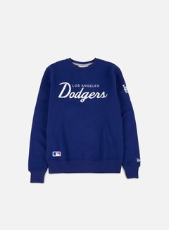 New Era - Team Apparel Crewneck LA Dodgers, Deep Royal Blue 1