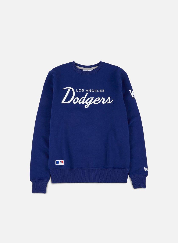 New Era - Team Apparel Crewneck LA Dodgers, Deep Royal Blue