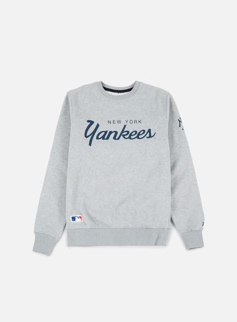 Outlet e Saldi Felpe Girocollo New Era Team Apparel Crewneck NY Yankees