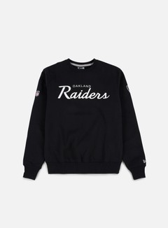 New Era - Team Apparel Crewneck Oakland Raiders, Black 1