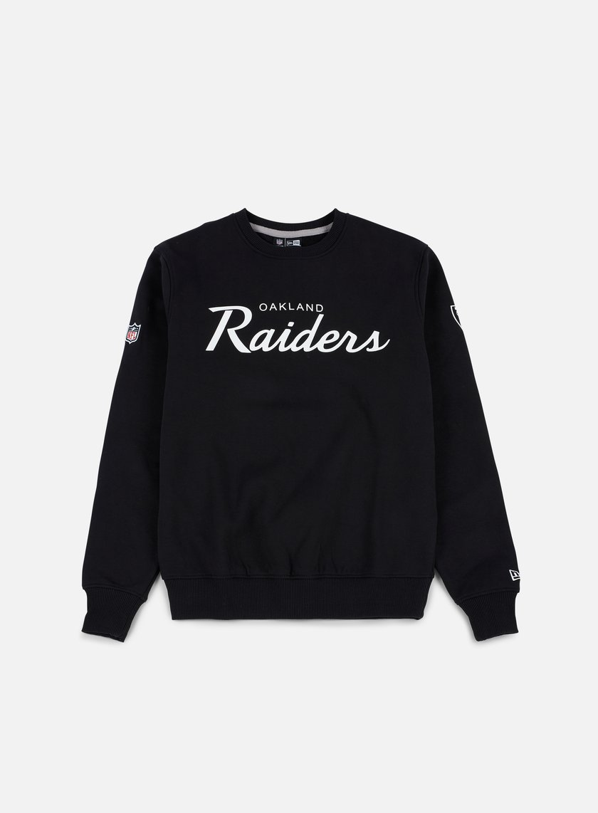 New Era - Team Apparel Crewneck Oakland Raiders, Black
