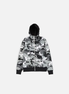 New Era - Team Apparel Full Zip Hoody NY Yankees, Urban Camo 1