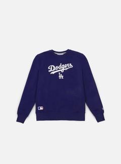New Era - Team Apparel Logo Crewneck LA Dodgers, Deep Royal Blue 1