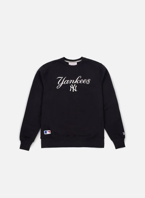 Sale Outlet Crewneck Sweatshirts New Era Team Apparel Logo Crewneck NY Yankees