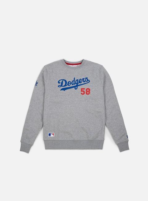 Sale Outlet Crewneck Sweatshirts New Era Team Apparel Script Crewneck Los Angeles Dodgers